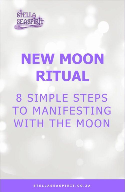 New Moon Manifesting Spell | www.stellaseaspirit.co.za