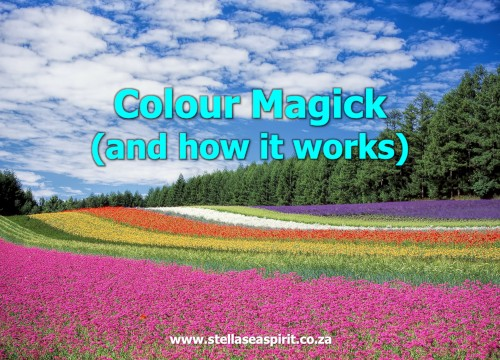Color Magick and How it Works | www.stellaseaspirit.co.za