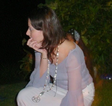 Stella Seaspirit in the Zone during a public full moon ceremony | www.stellaseaspirit.co.za