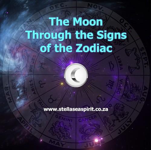 Moon in Zodiac Signs | www.stellaseaspirit.co.za