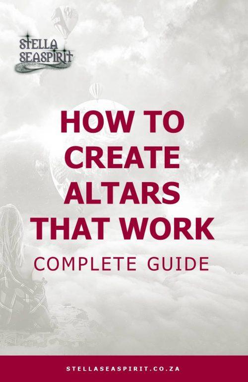 How to Create Altars That Work | www.stellaseaspirit.co.za