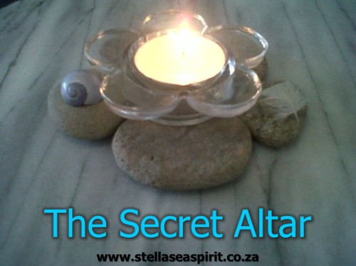 This is a nifty secret altar muggles won't notice! | www.stellaseaspirit.co.za