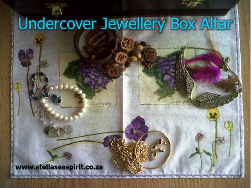undercover jewellery box altar | www.stellaseaspirit.co.za