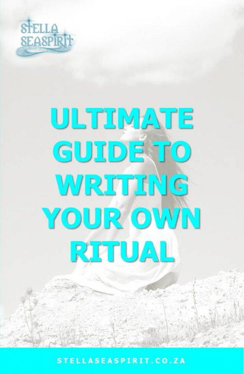 How to Write Your Own Ritual | www.stellaseaspirit.co.za