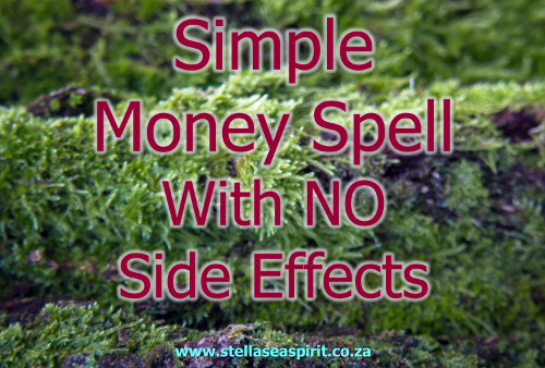 Simple Money Spell with No Side Effects