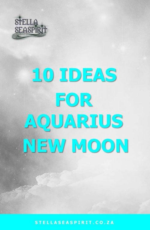 Aquarius Magick | www.stellaseaspirit.co.za
