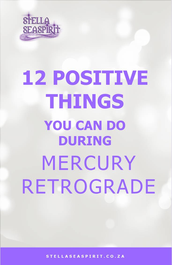 12 Positive Ways to Draw on Mercury Retrograde Energy