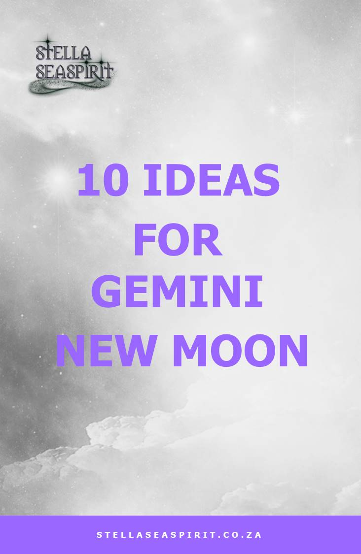 10 Ideas for Gemini New Moon