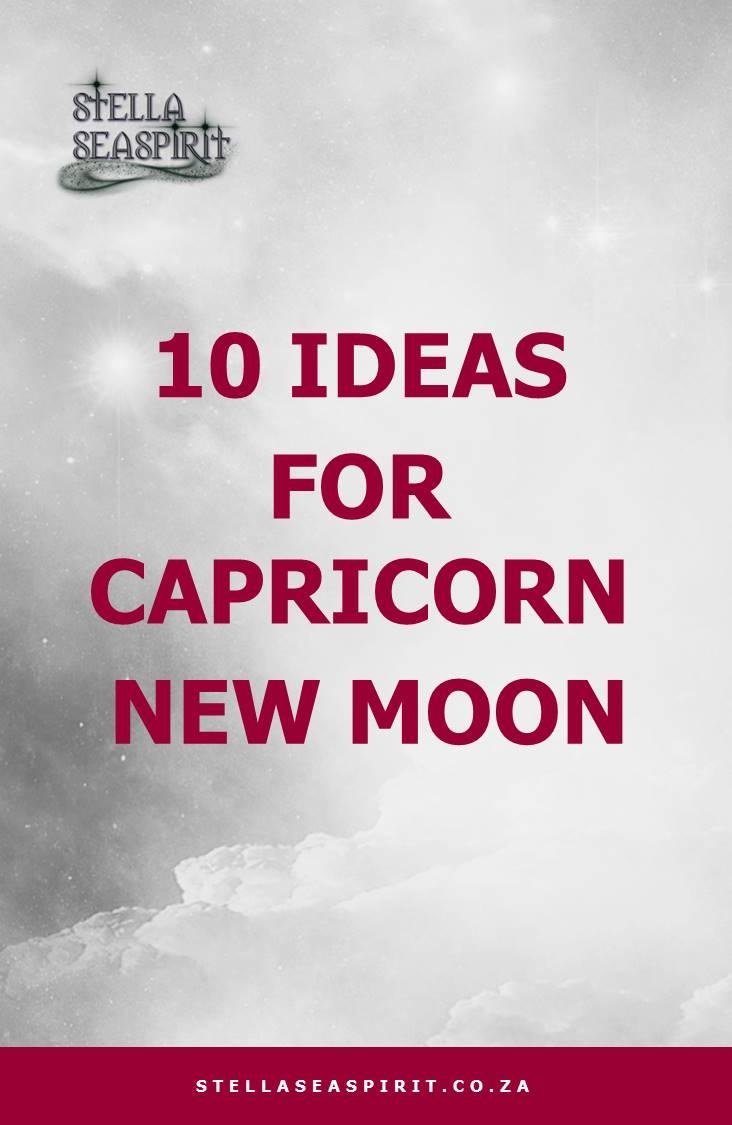 Capricorn Magick | www.stellaseaspirit.co.za