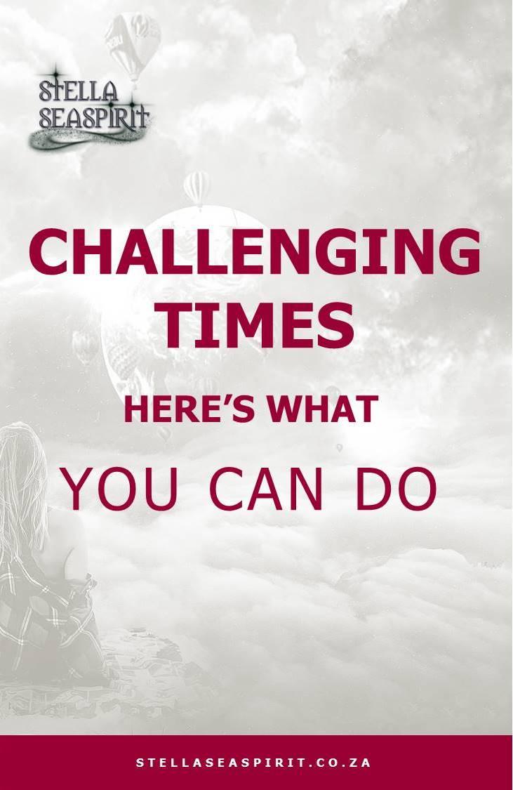 Challenging Times: 4 Steps to Bounce Back | www.stellaseaspirit.co.za