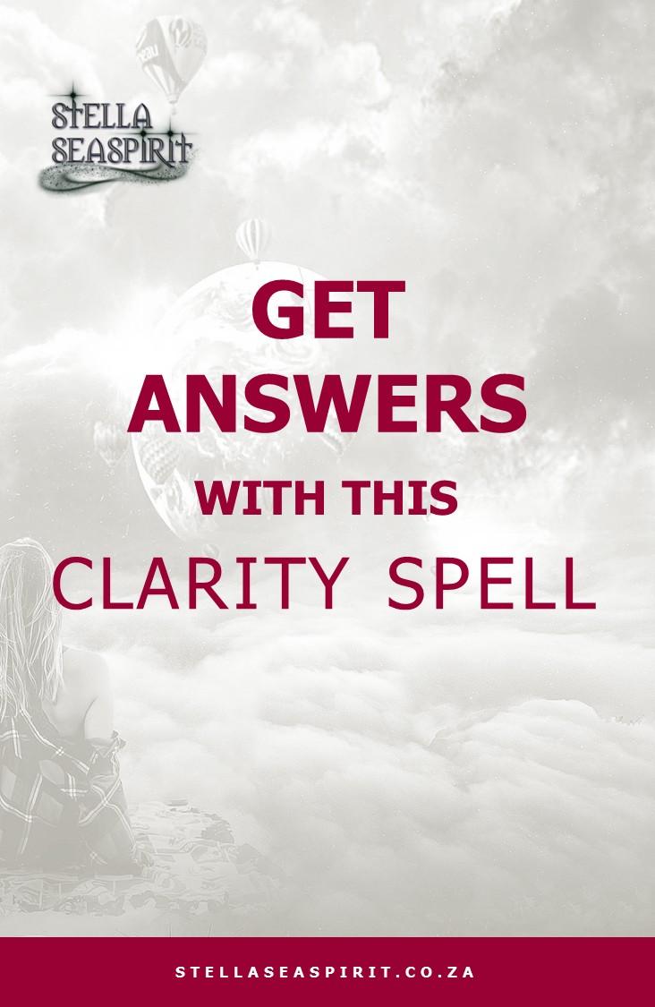 Clarity Spell | www.stellaseaspirit.co.za
