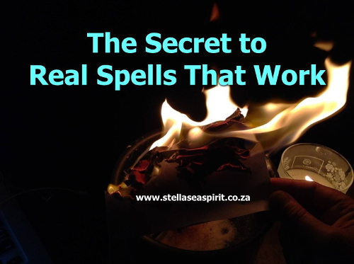 Real Magick Spells That Work For Beginners | www.stellaseaspirit.co.za