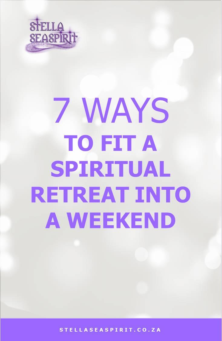How to Create a Spiritual Retreat at Home | www.stellaseaspirit.co.za