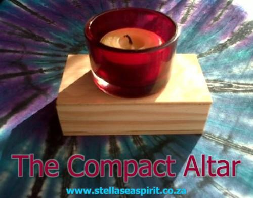 A Neat Altar for Tiny Spaces | www.stellaseaspirit.co.za