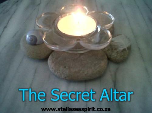 This is a nifty secret altar muggles won't notice! | www.stellaseaspirit.co.za