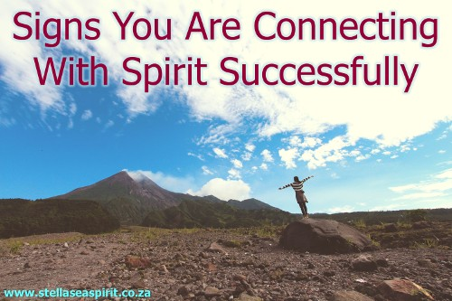 Signs You Are Connecting With Spirit Successfully | www.stellaseaspirit.co.za
