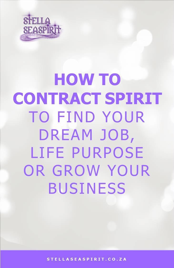 dream job life purpose or grow business with spirit | www.stellaseaspirit.co.za