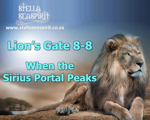 Lions Gate 88 Sirius Portal Peaks