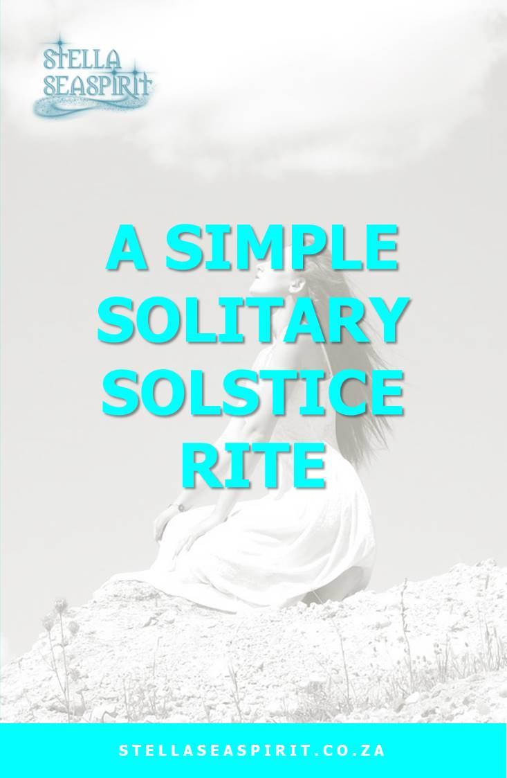 solitary solstice ceremony | www.stellaseaspirit.co.za
