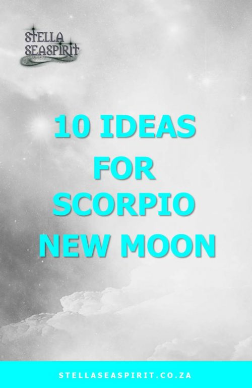 Scorpio Magick | www.stellaseaspirit.co.za