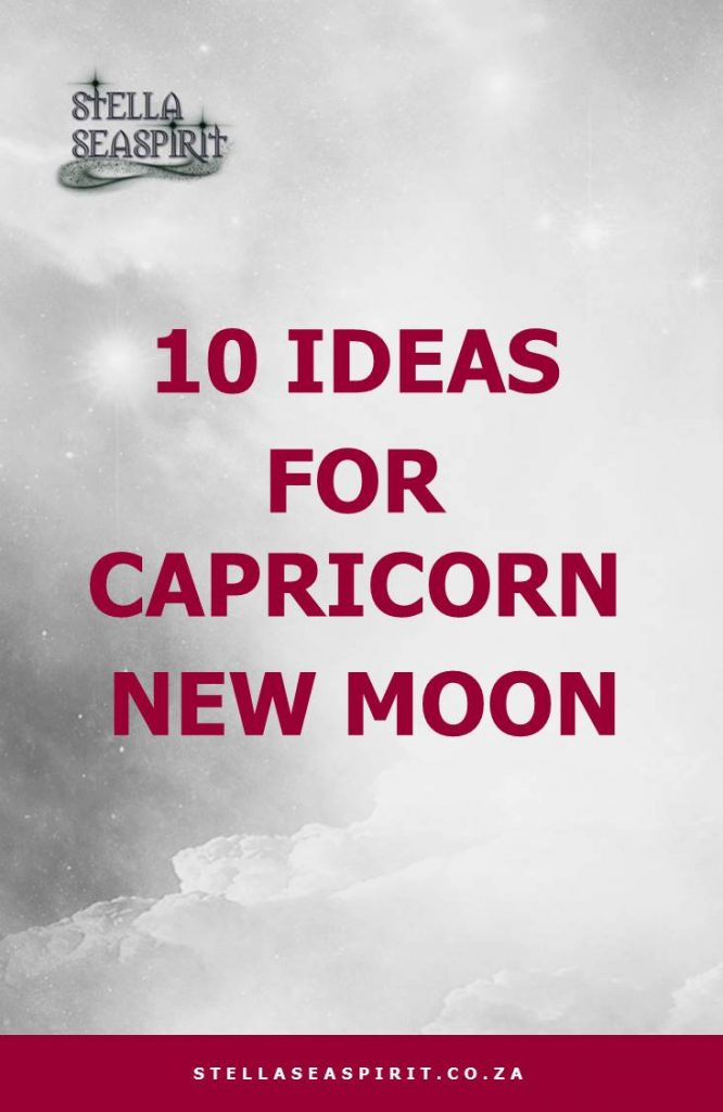 Capricorn Magick | www.stellaseaspirit.co.za