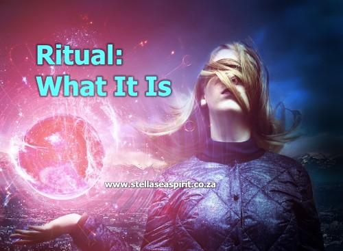 The Power of Ritual | www.stellaseaspirit.co.za