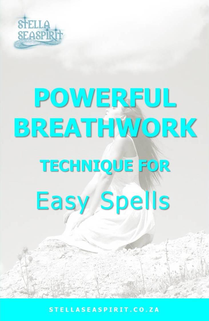Breathwork | Easy Spells | www.stellaseaspirit.co.za