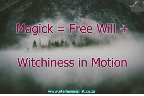 Magick Explained for Modern Witches   www.stellaseaspirit.co.za