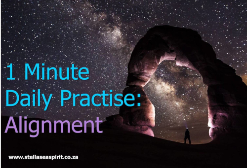 Spiritual Practice - Alignment | www.stellaseaspirit.co.za
